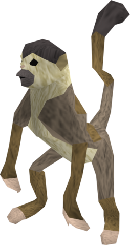 File:Monkey (brown and beige) pet.png