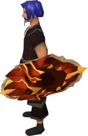 Dragonfire shield equipped