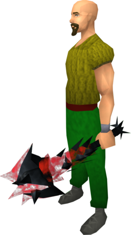 File:Off-hand drygore mace (blood) equipped.png
