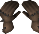 Spiked gauntlets