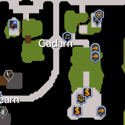 Cadarn Clan map