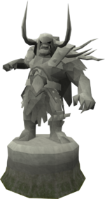 Sturdy Bandos statue