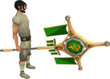 Banner of Bandos (tier 4) equipped