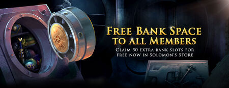Free Bank Space banner