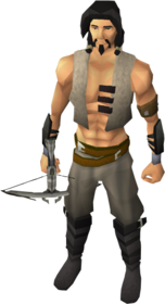 Lucky Armadyl crossbow equipped