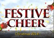 Festive cheer lobby banner