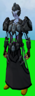 Tectonic armour (shadow) equipped
