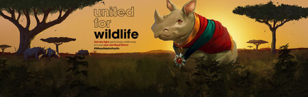 United for Wildlife head banner