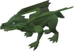 Baby dragon (green) pet
