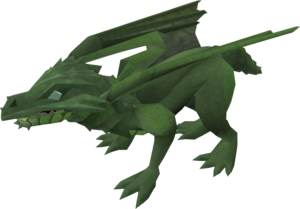 Baby dragon (green) pet