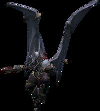 Lowerniel Drakan flying