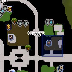 Glouron location