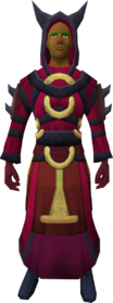Imphide robes (male) equipped