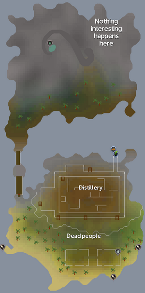 Braindeath Island map