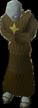 Zombie monk