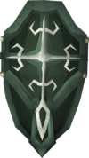 Adamant kiteshield (t) detail