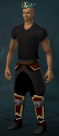 Crown of Loyalty (10 year) equipped
