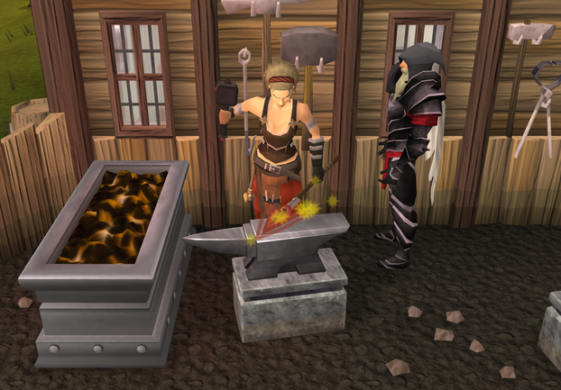 Súbor:Linza smithing the giant harpoon.png