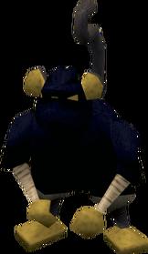 Ninja monkey greegree equipped