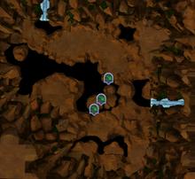 Borehole map