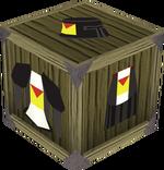 Black heraldic armour set 5 (sk) detail