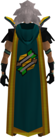 Retro hooded fletching cape (t) equipped