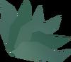 Shadow-infused herb detail