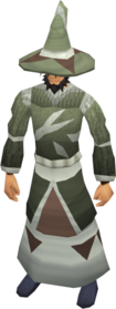 Mage armour (class 5) equipped