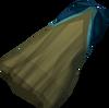 Theatrical skirt (blue) detail
