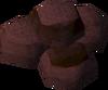 Blocks (iron oxide) detail
