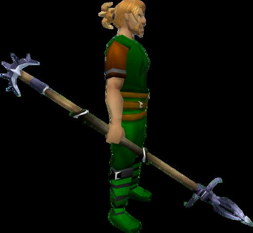 File:Zamorakian spear equipped.png