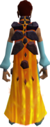 Enhanced fire cape equipped
