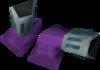 Pharaoh's sandals (purple, female) detail