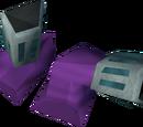 Pharaoh's sandals (purple, female)
