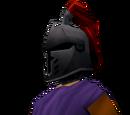 Steel heraldic helm (Zamorak)