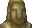 Golden idol