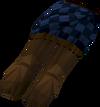 Highland kilt (blue, female) detail