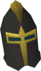 Elite black full helm detail old
