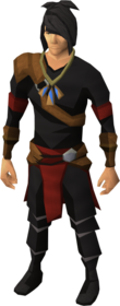 Pendant of Fishing equipped