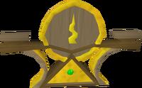 Guthix icon detail
