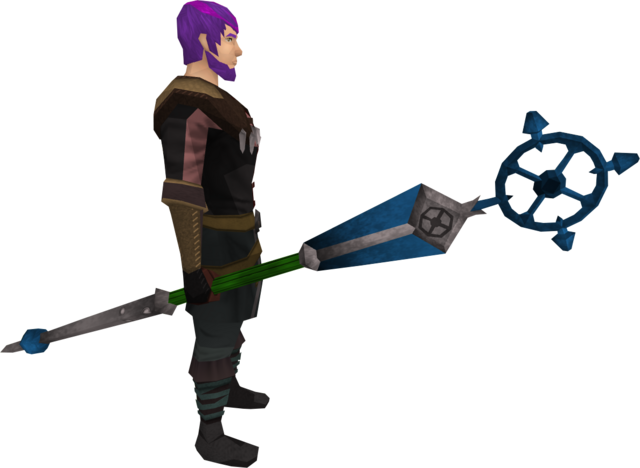 File:Ancient staff (blue) equipped.png