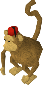 Rug merchant (Monkey colony)