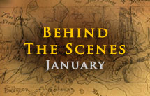 Behind the Scenes - January.