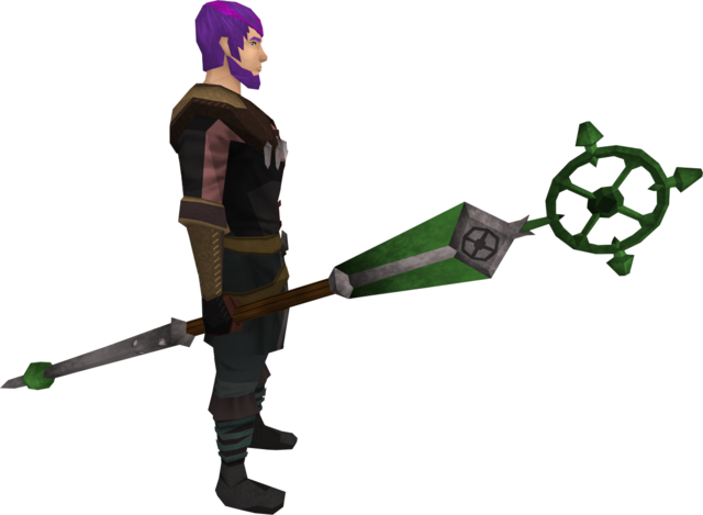File:Ancient staff (green) equipped.png