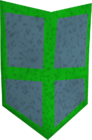 Guthix kiteshield detail old