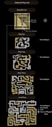 Jaldraocht Pyramid map