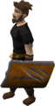 Anti-dragon shield equipped old.png