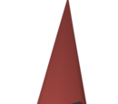 Blamish red shell (pointed)