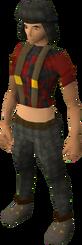 Lumberjack clothing female equipped