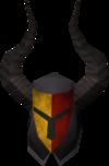 Black helm (h5) detail